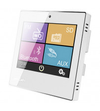 Smart Home on Wall Musikverstärker DSPPA DM837. Weiß
