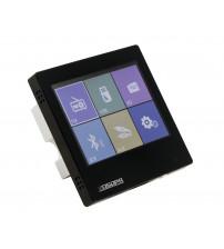 Smart Home on Wall Music Amplifier DSPPA DM837. Zwart