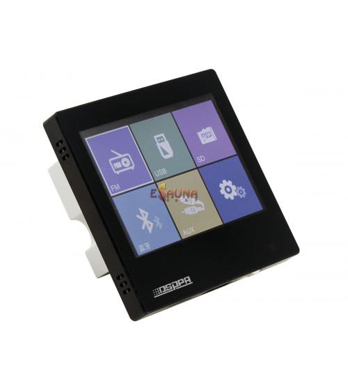 Smart Home on Wall Amplificador de música DSPPA DM837. Negro