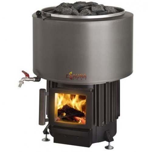 Kota Luosto VS with water tank in Woodburning heaters on Esaunashop.com online sauna store