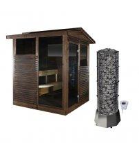 Maison de sauna Narvi Kota Pihasauna Softy 9 kW