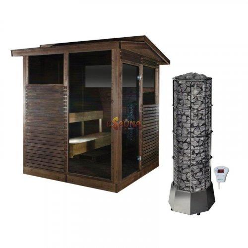 Sauna house Narvi Kota Pihasauna Softy 9 kW in Outdoor sauna on Esaunashop.com online sauna store
