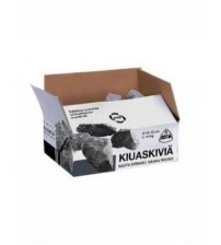 Kota πέτρες για μια καπνιστή σάουνα, 10 - 15 εκ