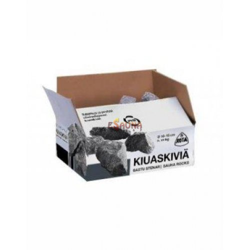 Olivindiabase stones 20 kg, 10 - 15 cm in Electric heaters on Esaunashop.com online sauna store