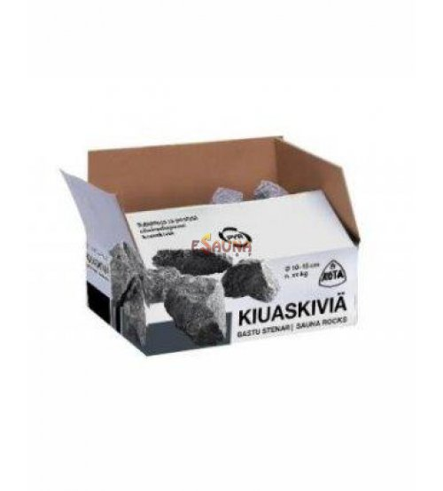 Оливин диабаз камни 20 кг, 10 - 15 цм