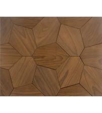 Panel dekoracyjny drewniany HEXACON, jesion Thermo