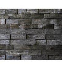 Pannello decorativo in legno Impressa Rovere carbonizzato