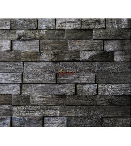 Dekoratyvinės medienos plokštės Impressa, apdegęs ąžuolas