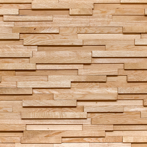 Decorative wooden panel Noble 23 Oak