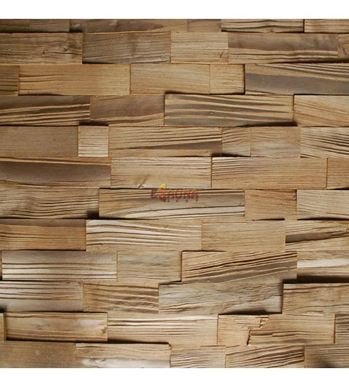 Decorative wooden panel Trail 58 Thermo-Birch