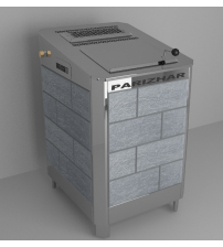 Elektrinė pirties krosnelė - VVD Parizhar 6.25 kW, vienfazė