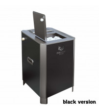 Calentador de sauna eléctrico - VVD Parizhar Black versión 6.25 kW