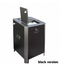 Elektrisk saunaovn - VVD Parizhar Black version 6,25 kW