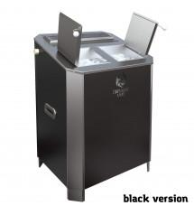 Elektrický saunový ohrievač - Parizhar 16 kW čierna verzia