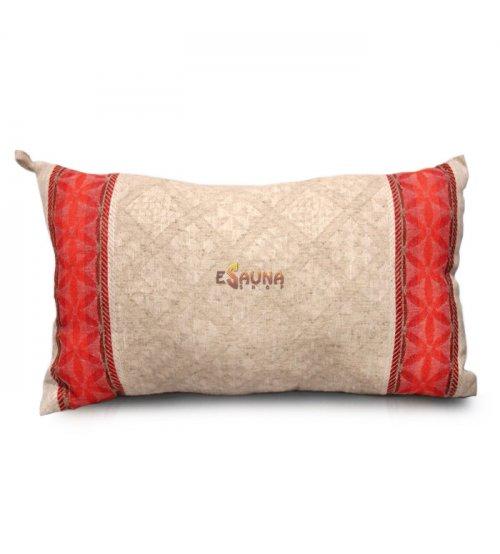 Aromatinė lininė pagalvė pirčiai, levandų kvapo