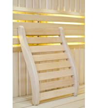 Sauna backrest