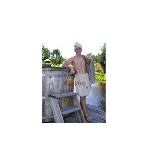 Grembiule da sauna per uomo