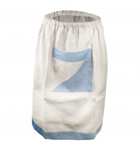 Bastuförkläde i linne