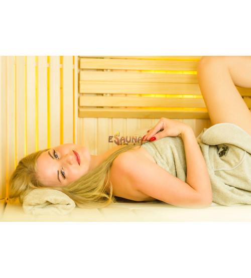 Tablier de sauna pour femme 75x140.