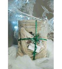 Christmas gift set for him, 55x140 cm
