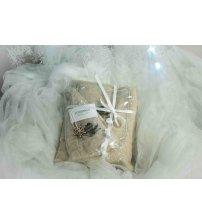 Christmas gift set for her, 75x140 cm