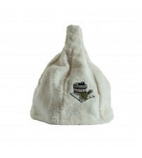 Шляпа из льна. Крем