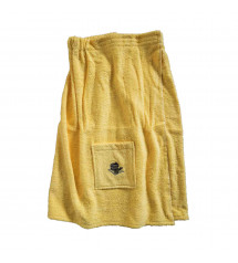 Sauna Apron for Female. YELLOW