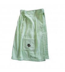 Sauna Apron for Female. GREEN