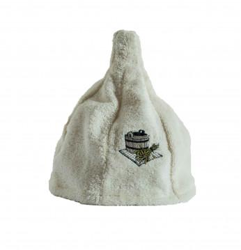 Linen cap. CREAM..