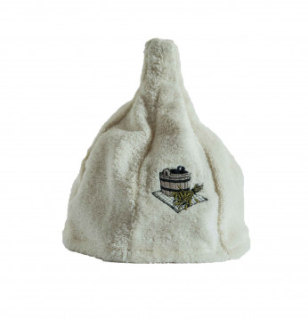 Bawełniana czapka. KREM..