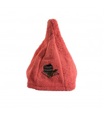 Linen cap. ORANGE