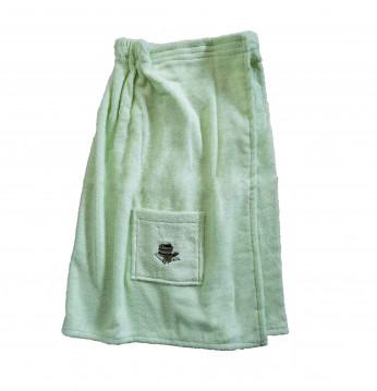 Frauenschürze. Grüne Fa..