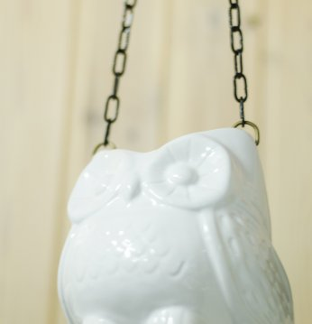 Ceramic odors pot owl..