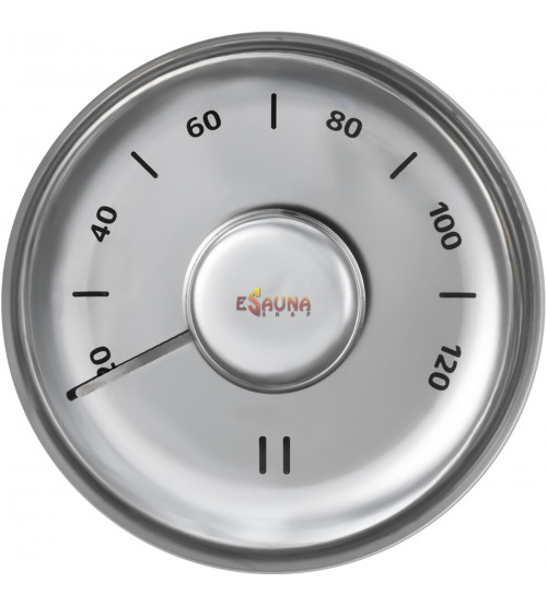 Nerūdijančio plieno termometras Rento