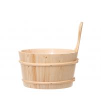 RENTO wooden bucket, Spruce