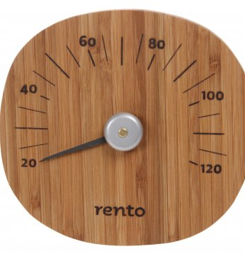 Termometer i bambus REN..