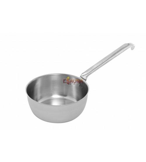 Zajemalka jeklena mat zaključena. 1,6 L