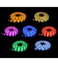 Vodotesné osvetlenie 5050 RGB 60 led / m