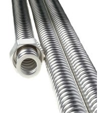 Tubo de acero inoxidable galvanizado Sauflex para vapor