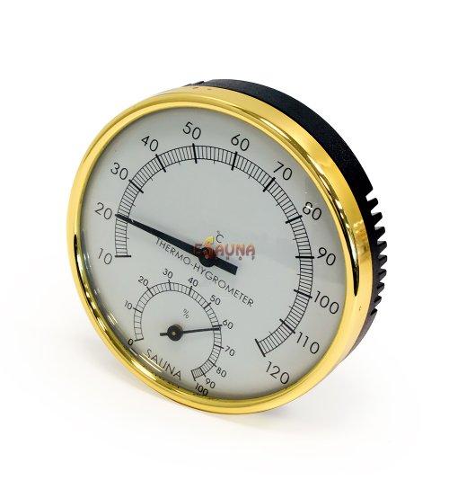 Sauflex round thermo-hygrometer