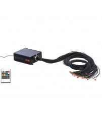 SAUFLEX LED -färgbelysningsprojektor med kontrollpanel