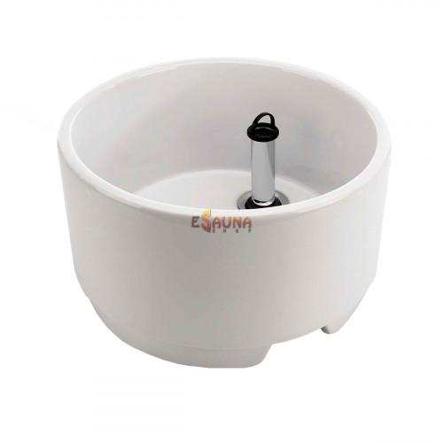 Sauflex kāju vanna, keramika, 17L