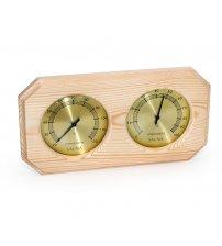 Sauflex thermo-hyrgrometer, horizontal, octagonal