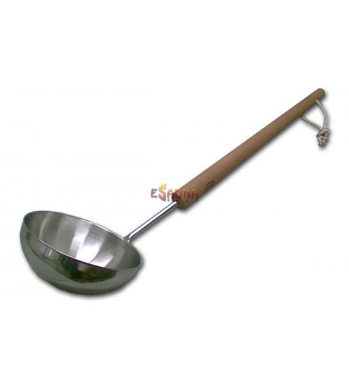 Zajemalka Saunia iz nerjavečega jekla, 65 cm