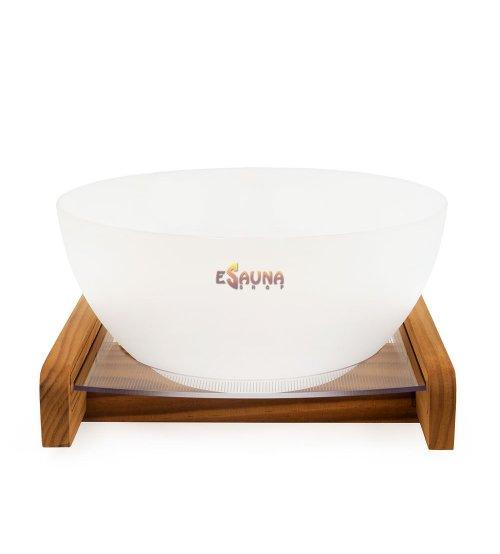 Saunia sauna bowl Aurora with LED lightning, 7 L