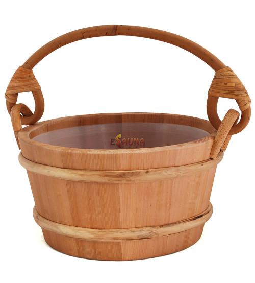 Cubo de madera Sawo 4l