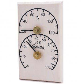 Thermo-hygromètre verti..