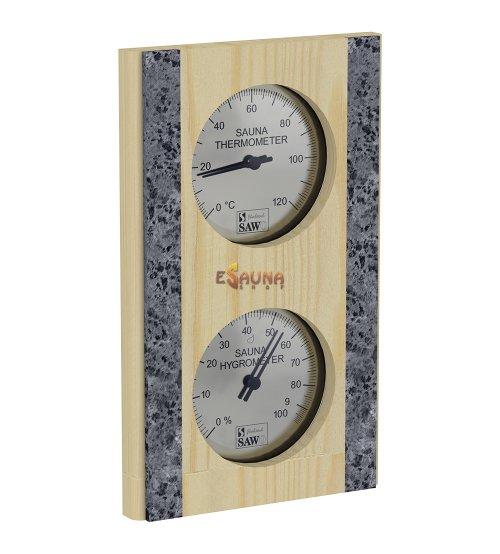 Sawo thermo-hygrometer 283-THR, pine
