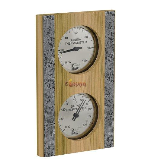 Sawo termo-higrometras 283-THR, kedras