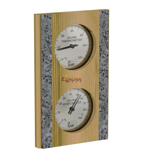 Sawo thermo-hygrometer 283-THR, cedar